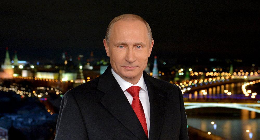 318906853 - Putin Neujahrsansprache 2019 auf Perviy Kanal